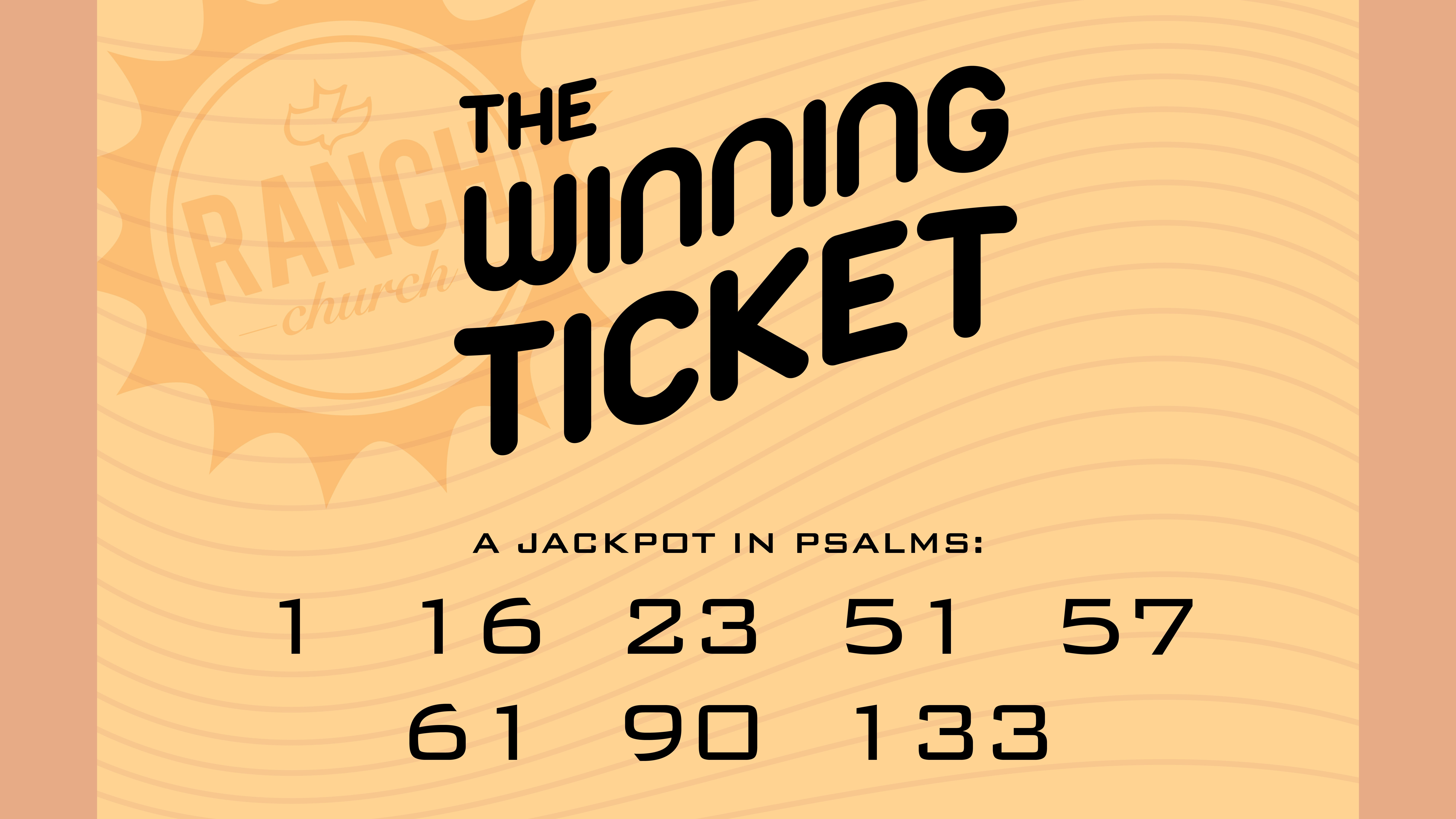 The Winning Ticket: How God's Favor Works Image