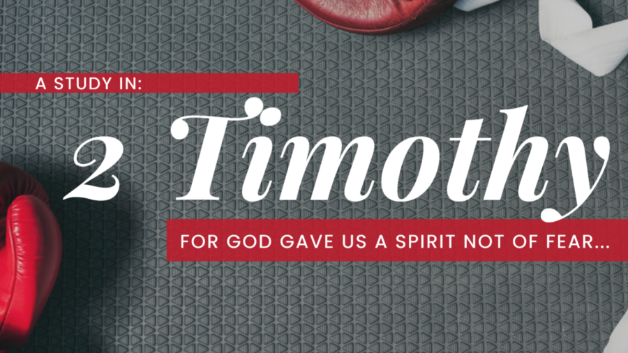 A Study in 2 Timothy - Last Words (2 Timothy 1:3-7) Image
