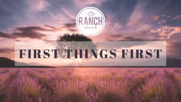 1st Things 1st