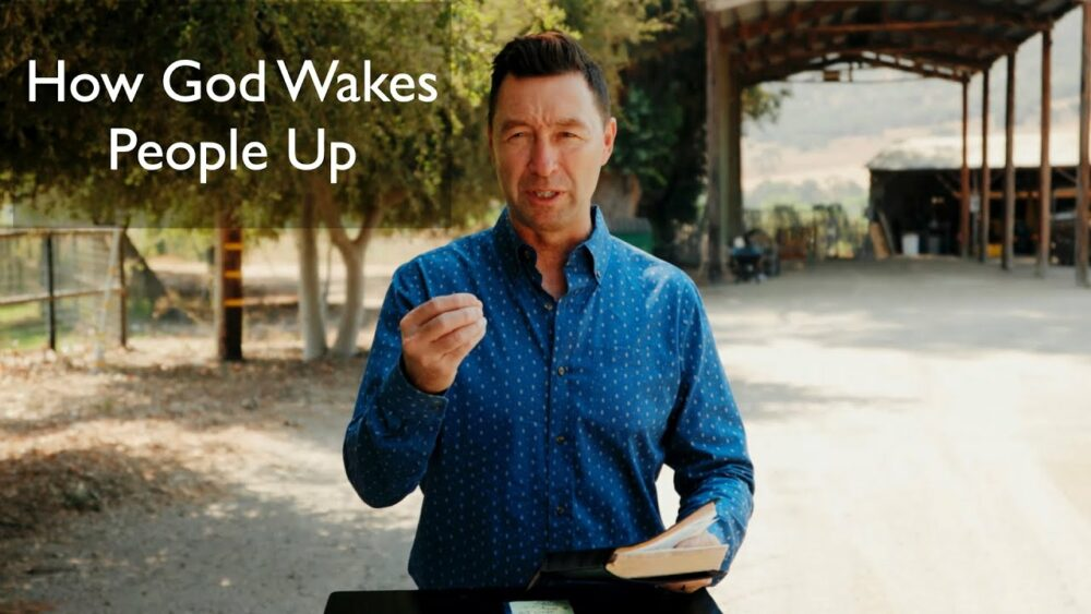 How God Wakes People Up/Romans 4 Image